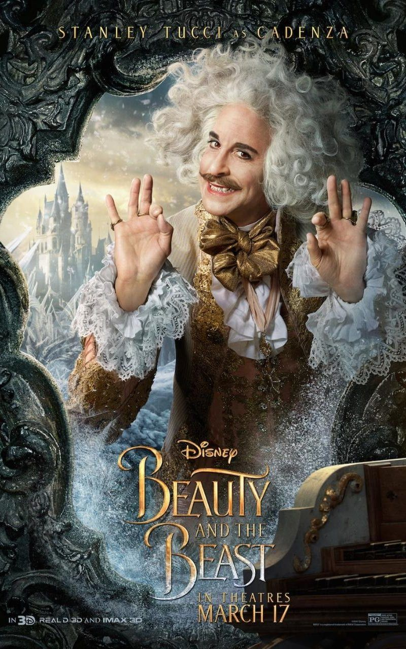 In the new adaptation Stanley Tucci plays a character named Cadenza ...