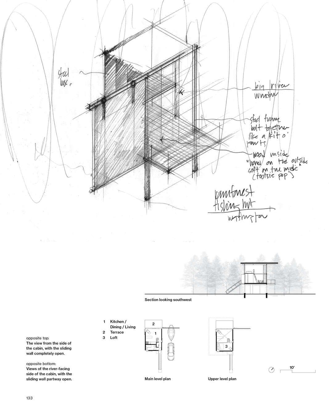 How Architecture Is Born: 8 Pencil Sketches by Tom Kundig and the ...