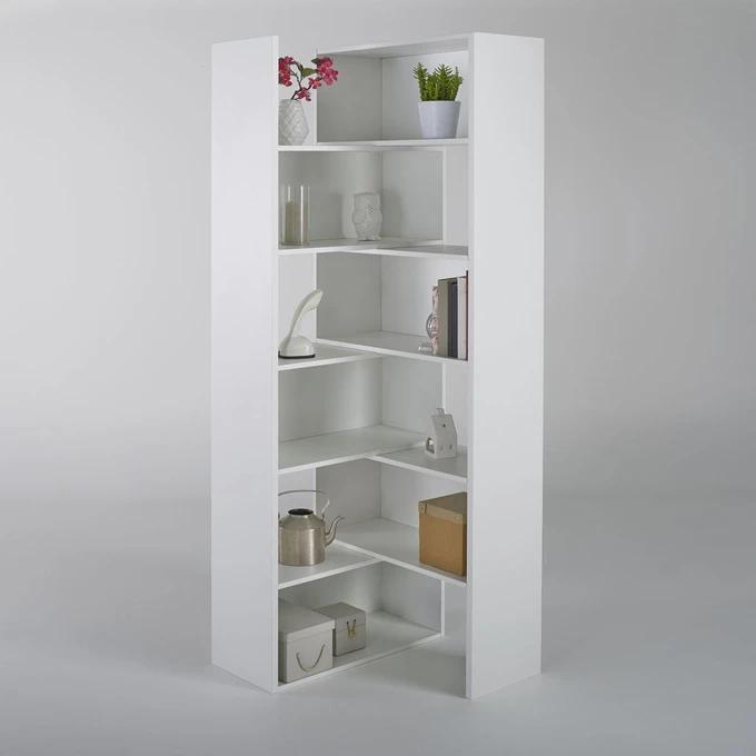 Bibliotheque Extensible Hauteur 2 Metres Everett Bibliotheque Angle Etagere Extensible Decoration Blanc