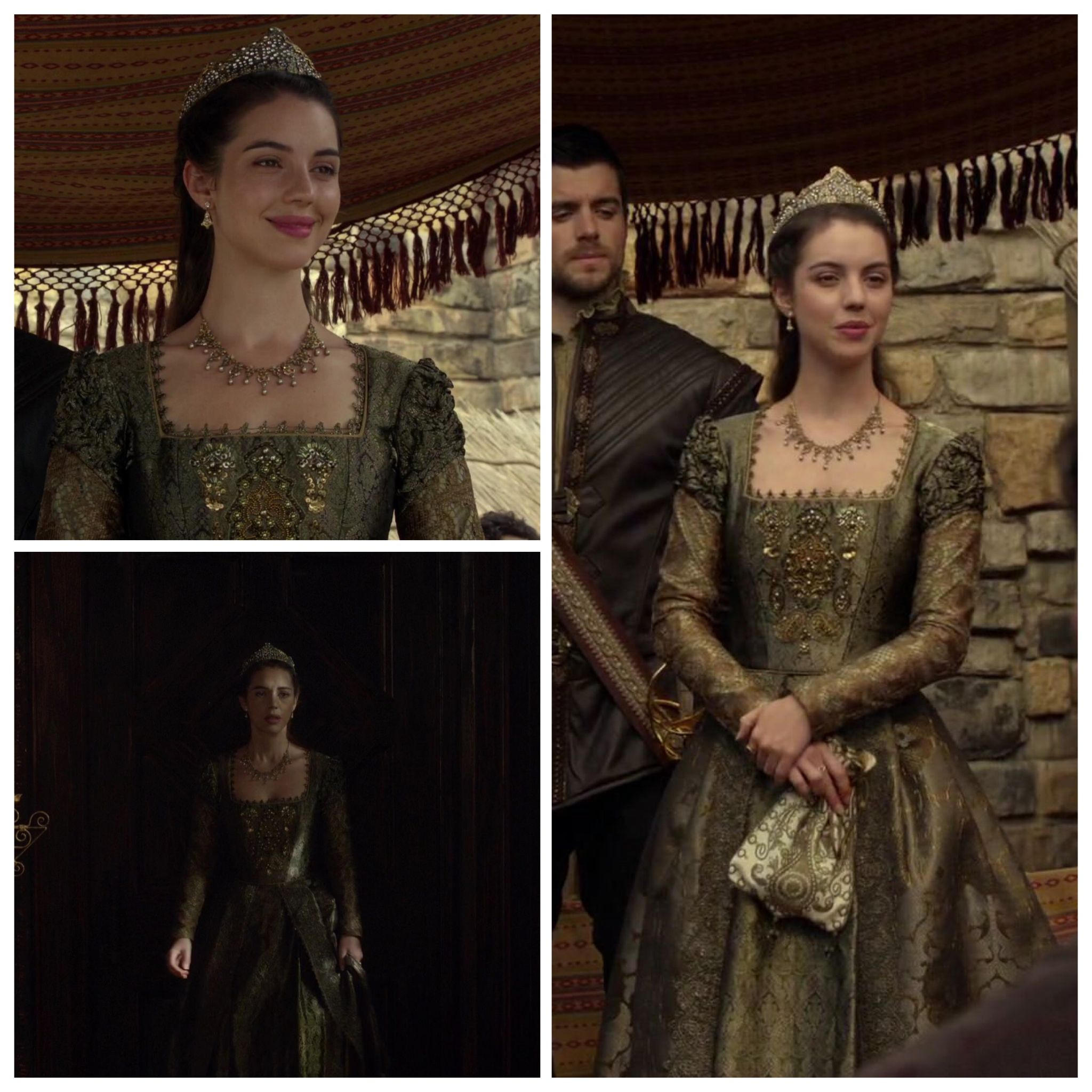 Mary S Olive Green Dress 4x09 Pulling Strings Reign Fashion Reign Dresses Fantasy Dress [ 2048 x 2048 Pixel ]