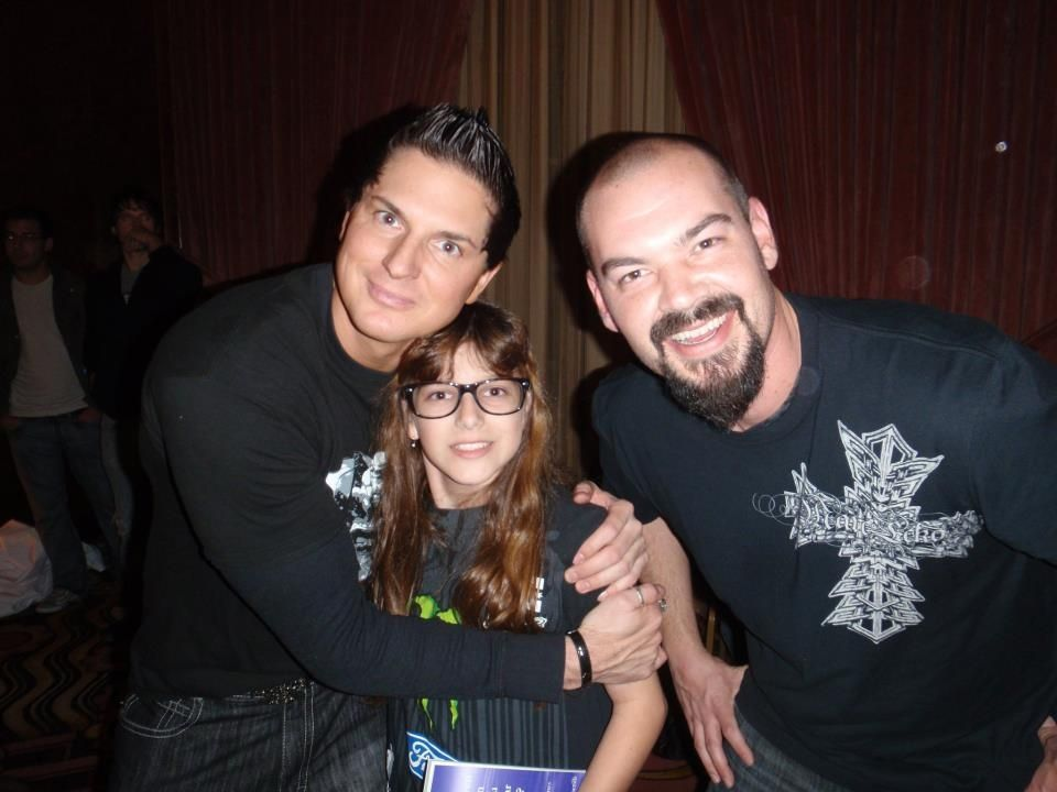 "The Ghost Host Sophia Temperilli from LiveParanormal.com with Zak and Aaron of Travel Channel's ""Ghost Adventures"":)"