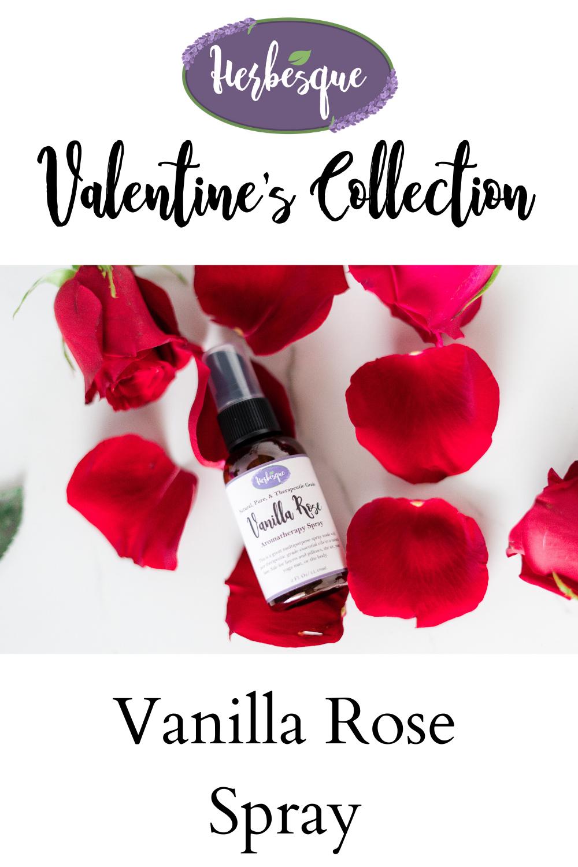 Vanilla Rose Spray in 2020 Spray, Natural ingredients