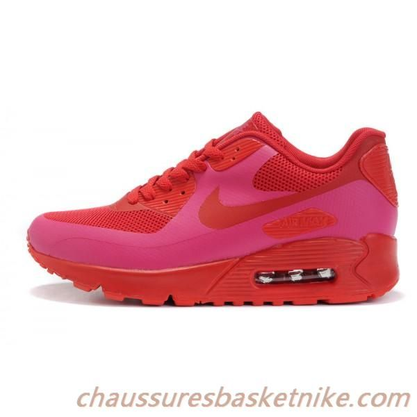 cheapest price premium selection great deals 2017 Nike Air Max 90 Chaussures Rouge (Chaussures Couple)   Nike air ...