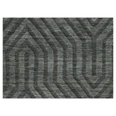 2 6 X8 Solid Runner Gray Rizzy Home Products Rugs