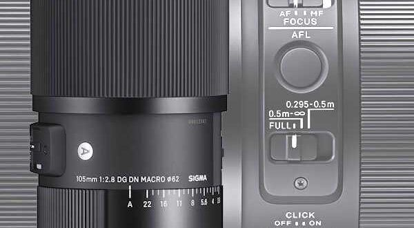 Sigma 105mm f2.8 DG DN Macro Art Lens for Sony E and Leica L Introduced