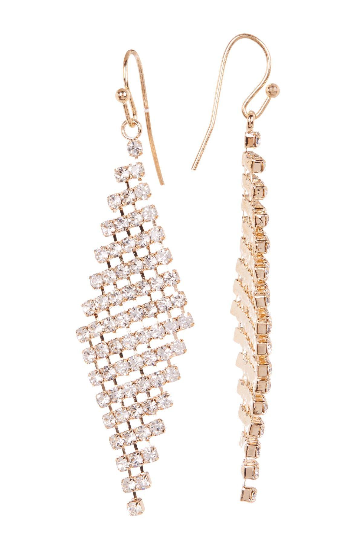 Joe fresh crystal chandelier earrings chandelier earrings crystal chandelier earrings arubaitofo Choice Image