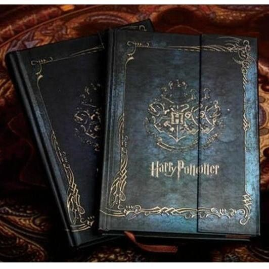Vintage Style Harry Potter Notebook Diary Book Hard Cover Harry