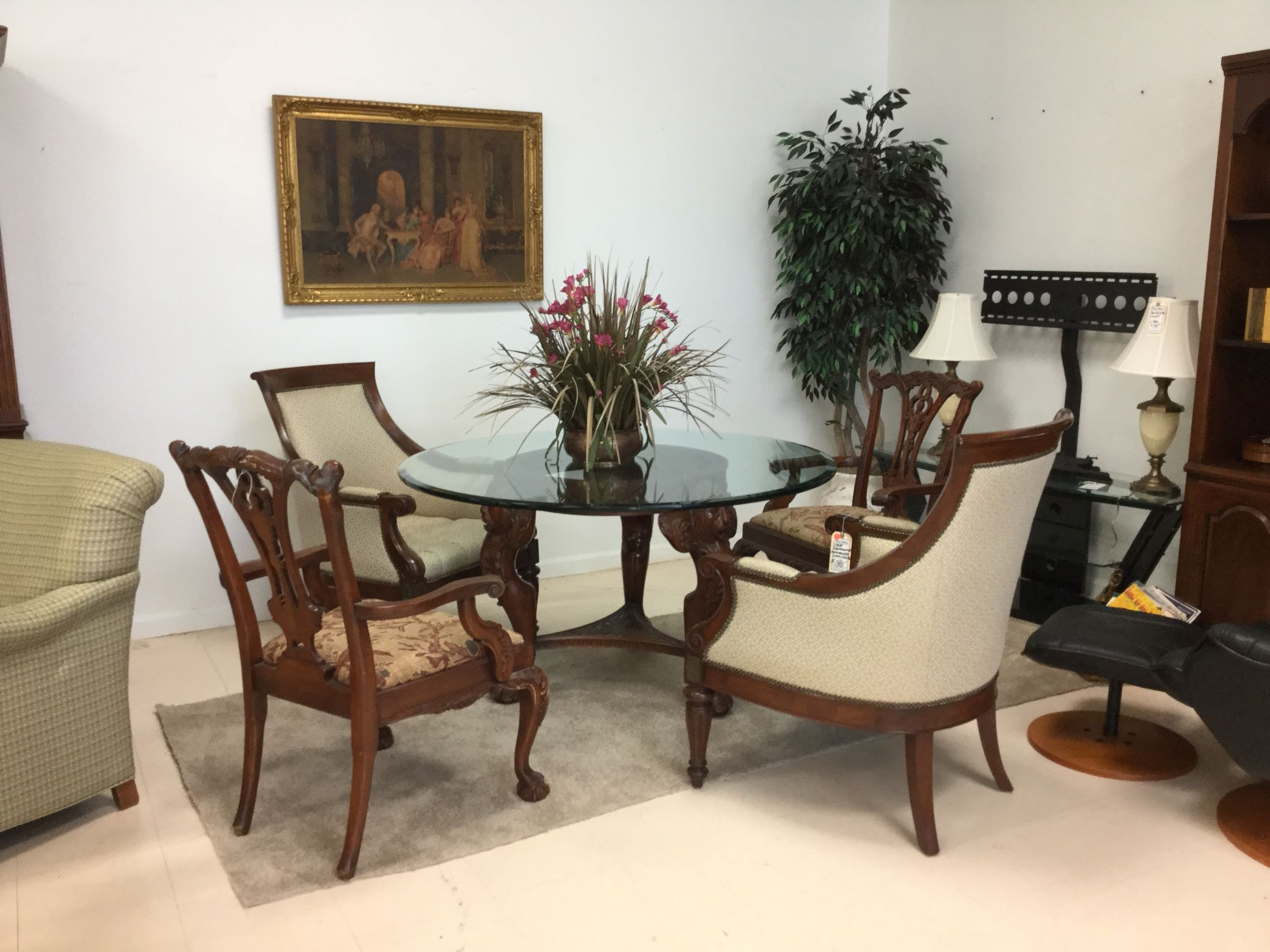 This Just In The Hemingway Armchair Pair From Thomasville Amazing Dining Room Head Chairs Design Inspiration