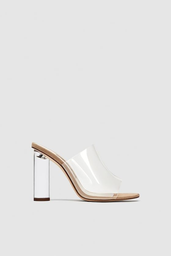 07d826c003f VINYL MULES WITH METHACRYLATE HEEL - View all-SHOES-WOMAN