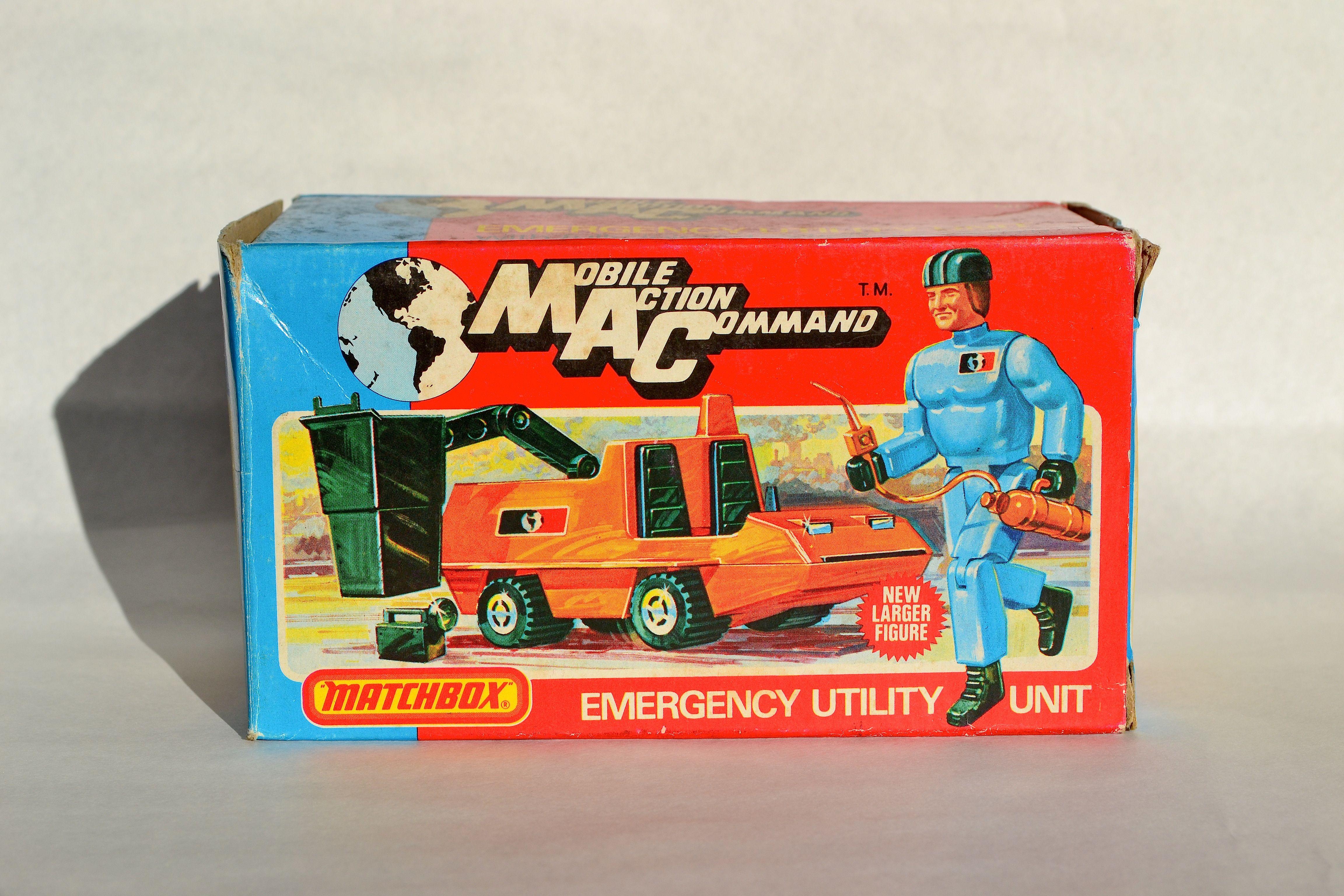 Mcs mobili ~ Matchbox mobile action command. mc 3 emergency utility unit. $420