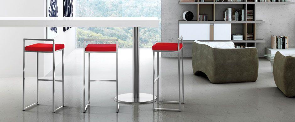 Taburete para barra de cocina ondarreta cocinas taburetes sillas interiores mesas y - Taburetes para barra de cocina ...