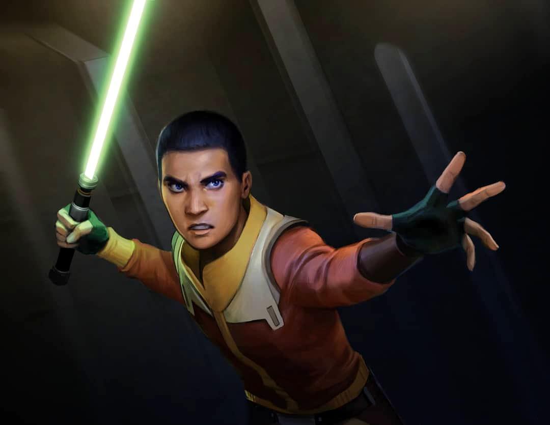 Ezra Bridger/'s Lightsaber from Rebels Season 3