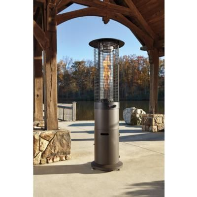 Hatchlands Column Patio Heater Brown - Outdoor by Ashley - Pin By McLellan BrandSource On The Great Outdoors Pinterest