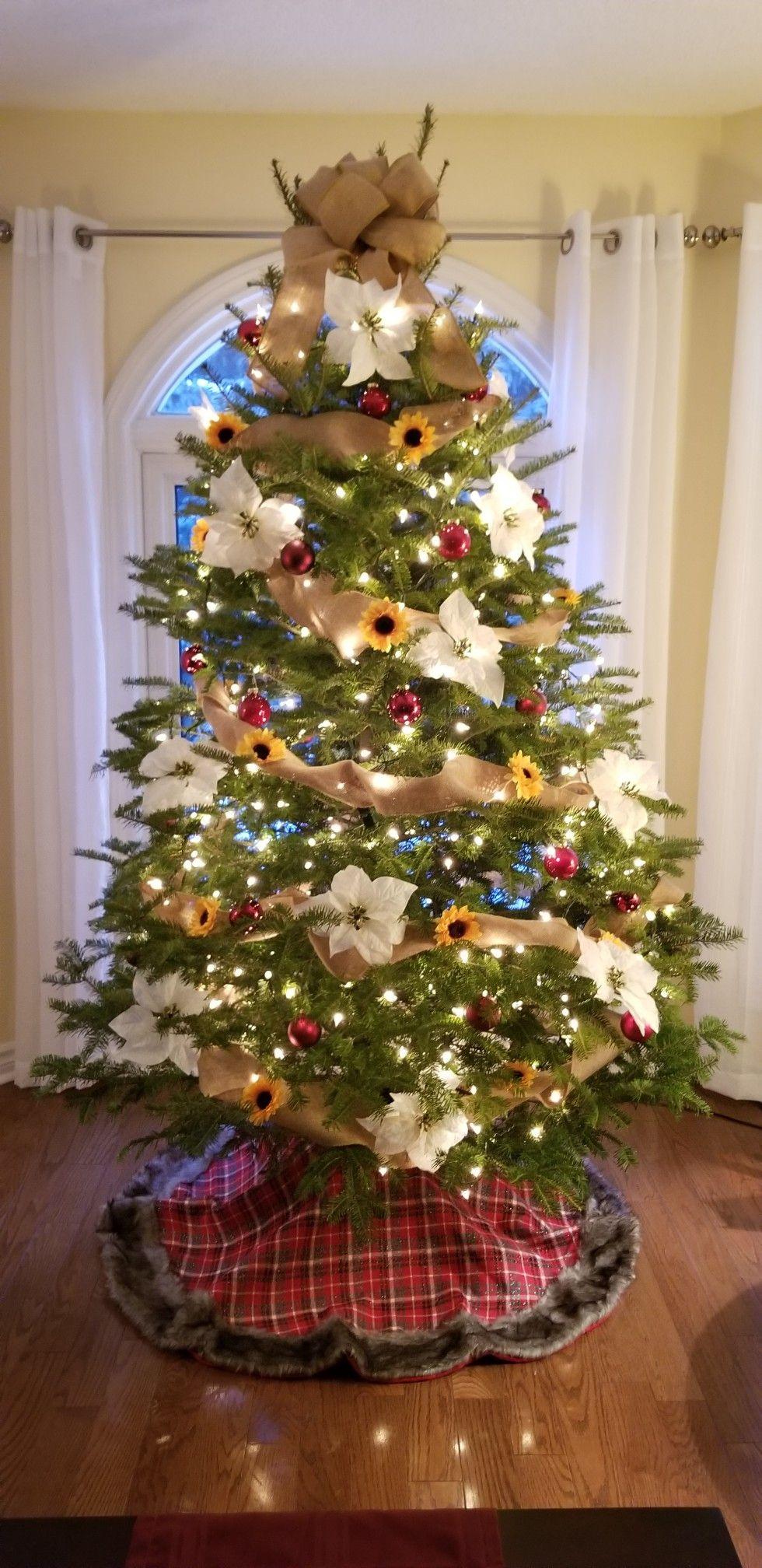 Sunflower Christmas Tree   Christmas tree, Christmas ...