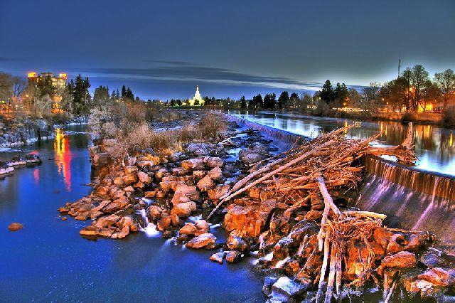 The Greenbelt in Idaho Falls, ID
