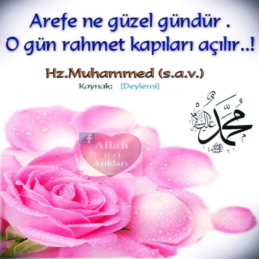 Arefe Gunu Resimli Mesajlar Cok Iyi Abi Allah Diy And Crafts Islam