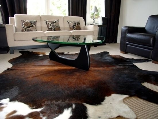 Leather Interior Decor With Cowhide Rugs Possum Throws Cowhide Rug Living Room Cow Hide Rug Cowhide Decor