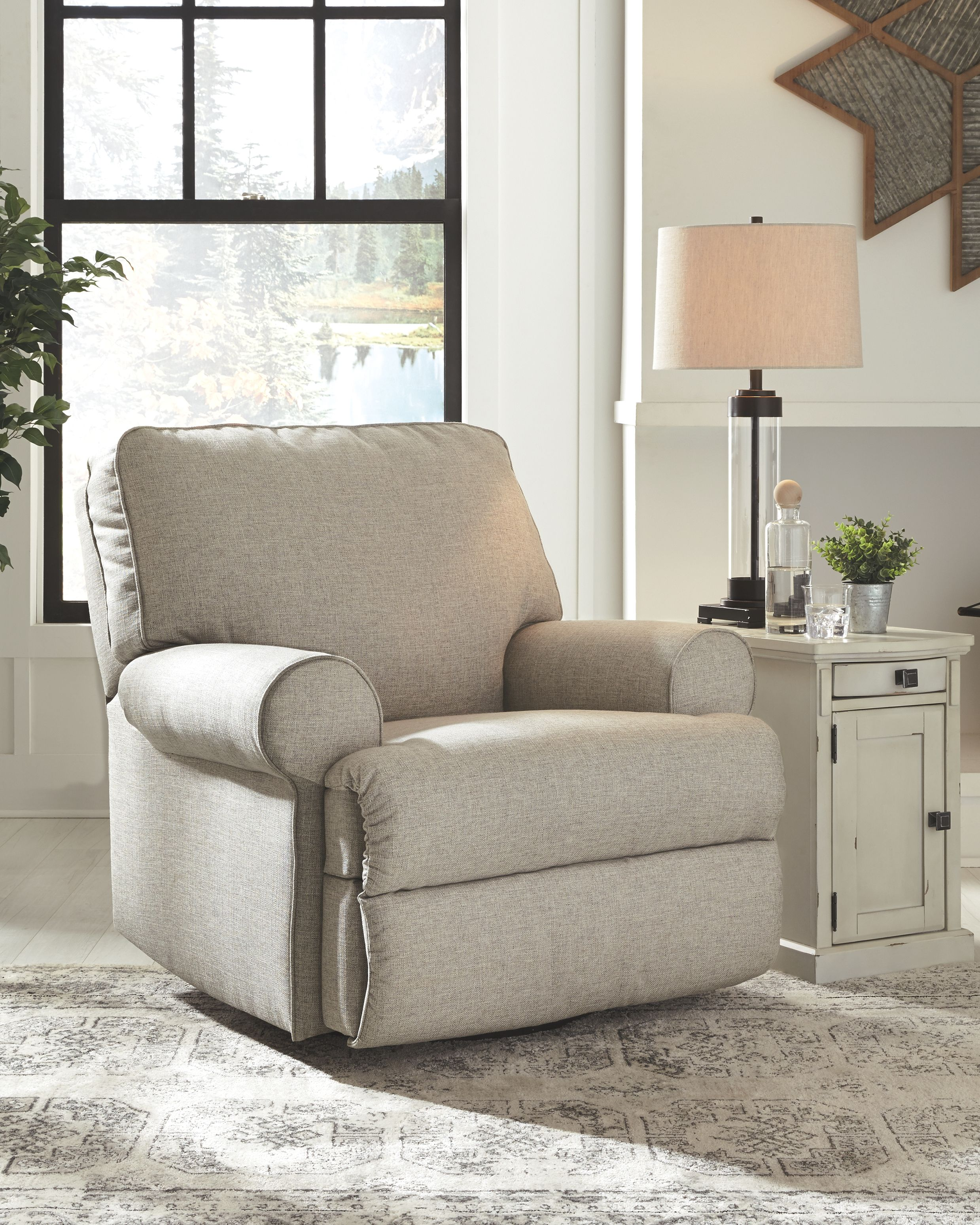 Ferncliff Swivel Glider Recliner Swivel Recliner Chairs Living
