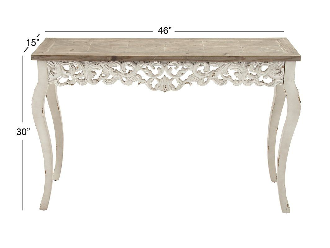 Washburn Console Table Wooden Console Table Console Table Wooden Console
