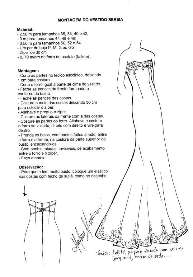 Confeccion de vestidos de novia pdf