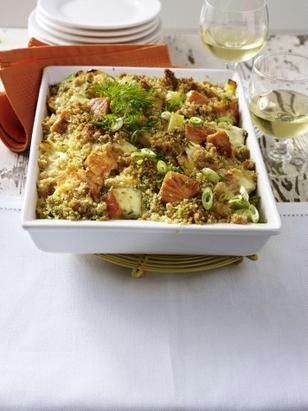 Lachs-Kartoffel-Auflauf Rezept