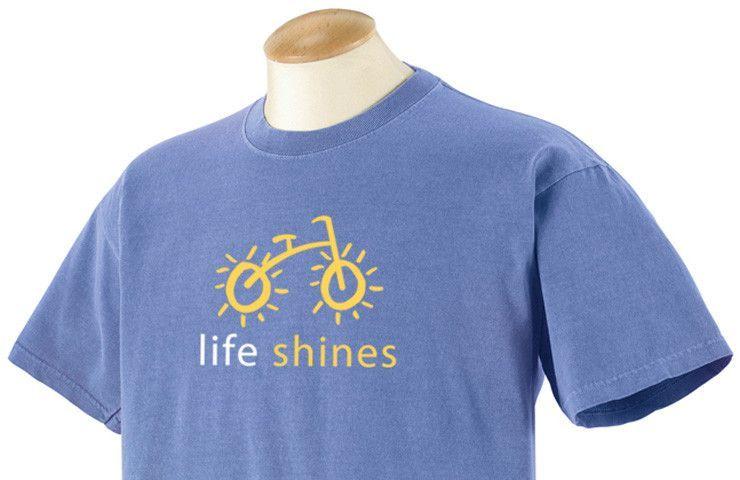 Life Shines Bike Shirt (for Adults)