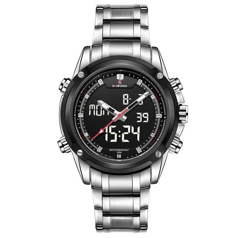 NAVIFORCE Men Watches Luxury Brand Quartz Hour Analog Digital LED Sports Watch Men Army Military Wrist Watch Relogio Masculino