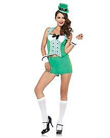 Youll be feeling lucky all night long when you show up to any fun youll be feeling lucky all night long when you show up to any fun party wearing this darlin leprechaun costume leprechaun girls pinterest solutioingenieria Choice Image
