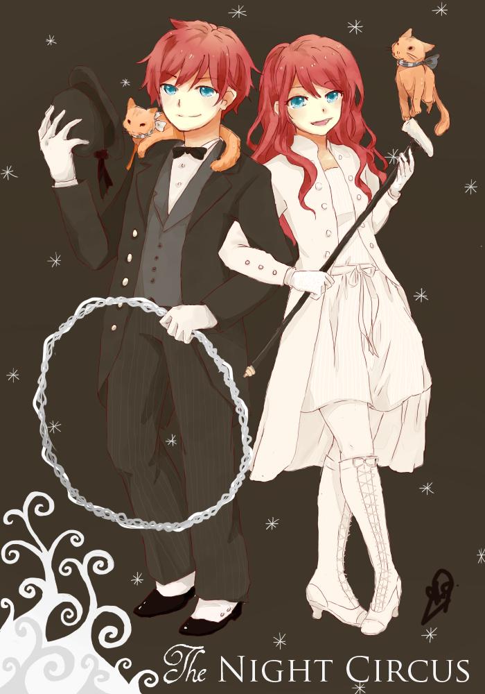 Poppet and Widget (illustration by eizurin at deviantart)