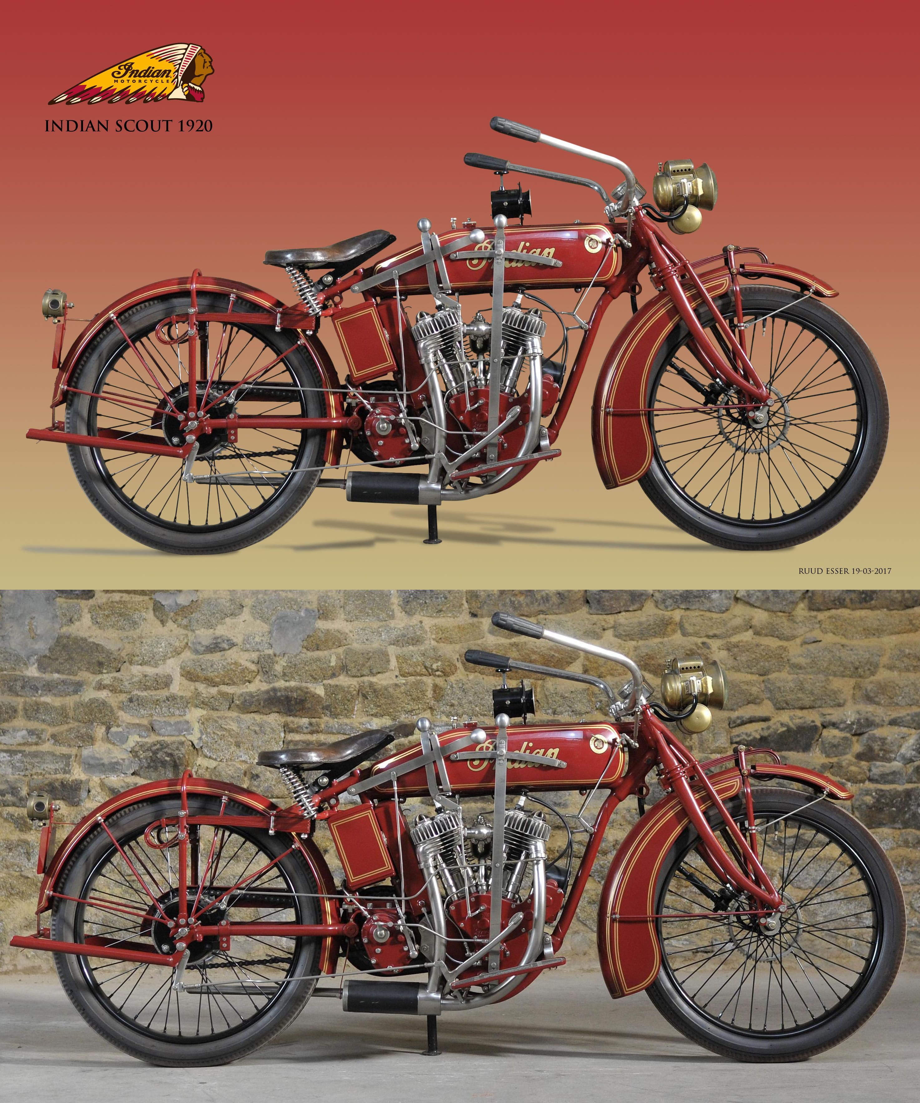 Indian Scout 1920 Indian Motorcycle Vintage Indian Motorcycles Motorcycle