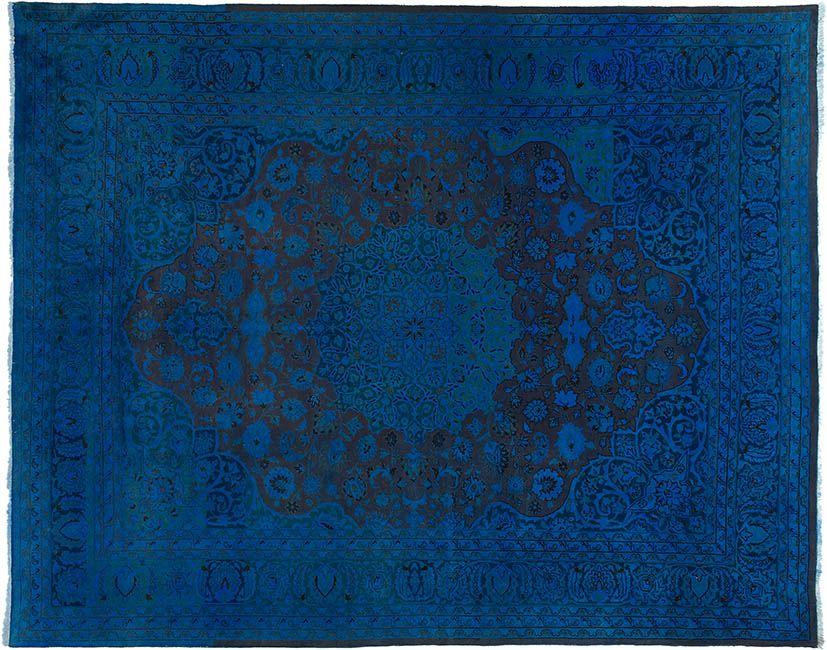 Blau Er Teppich By KISKAN PROCESS HAMBURG Orientteppich Gefrbter