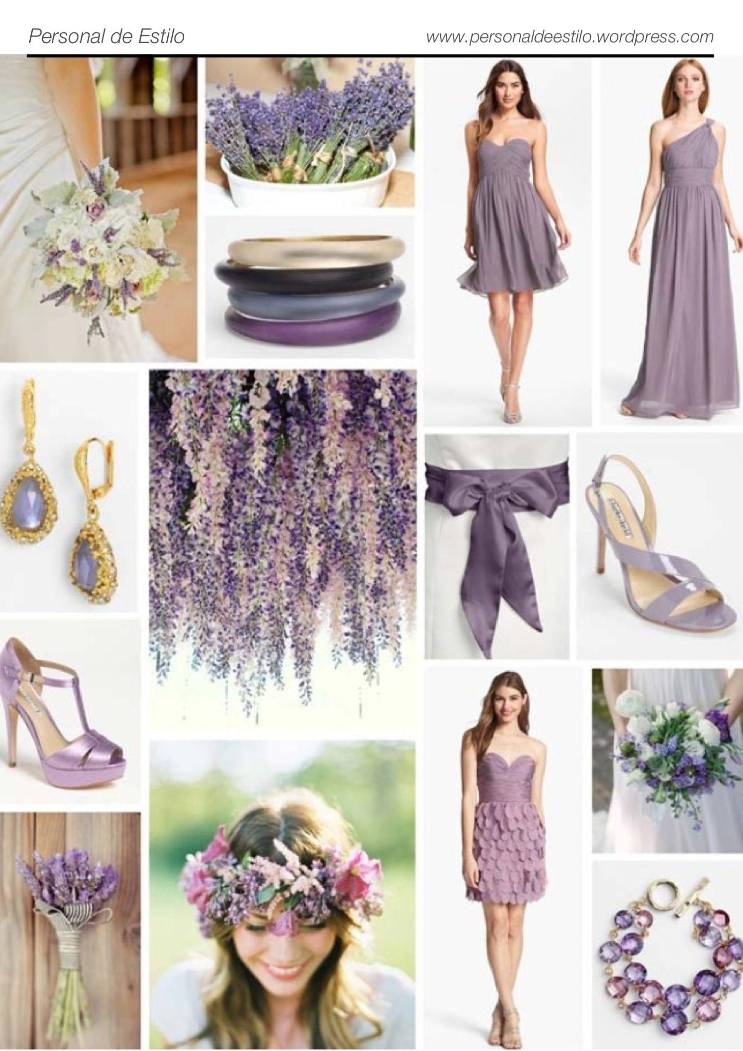 Lavanda, a cor da vez!   Lavender and Wedding