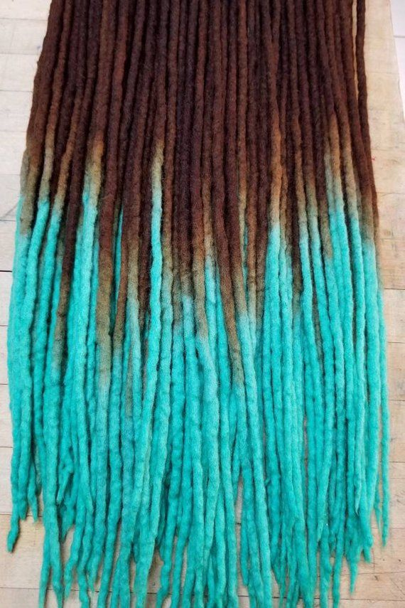 Wool Dreadlocks Custom Wool Dreads Handmade Hippie Dreads Hair