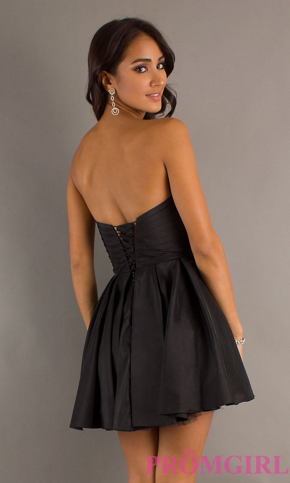 3bfa65150256 Strapless Short Party Dress by Alyce Designs 4250 | Party Dresses ...