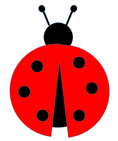 Ladybug Cut Out Pattern Paper This And That Free