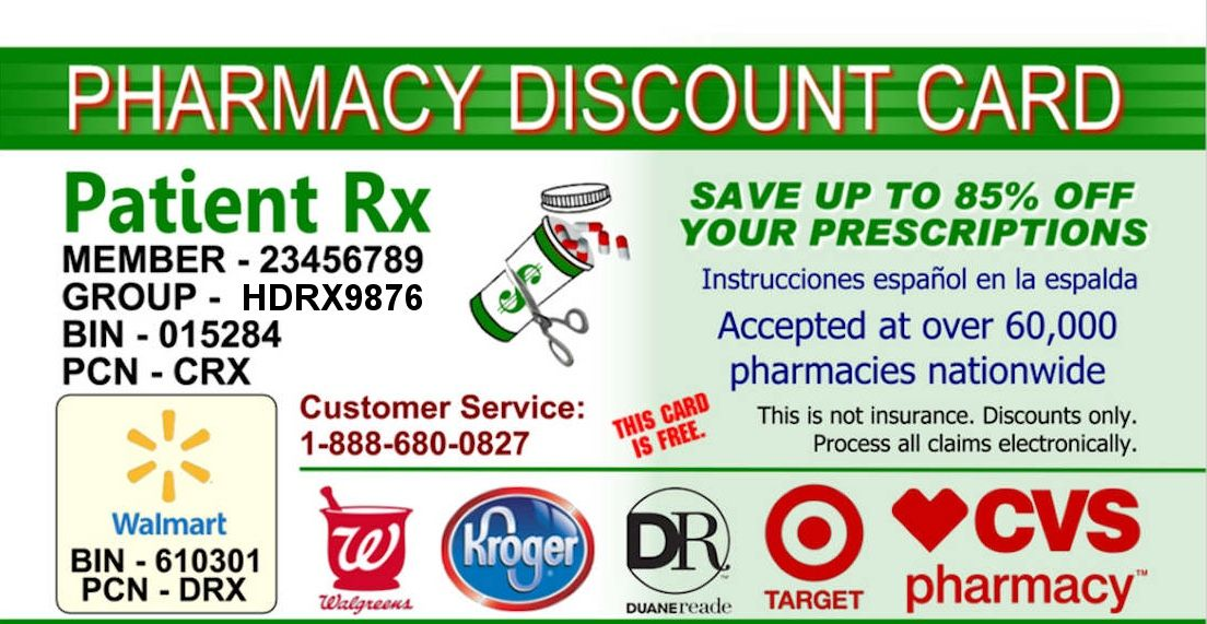 This Card Saves Up To 85 On Prescriptions Entire Family Can Use Including Pets Use For Any Prescription Accepted By Thous Pharmacy Cards Brand Names