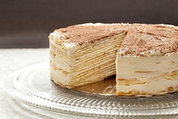 Super Mille Crepe Tiramisu Birthday Cake Recipe Cake Recipes Funny Birthday Cards Online Necthendildamsfinfo