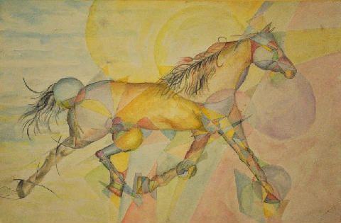 Studio del cavallo