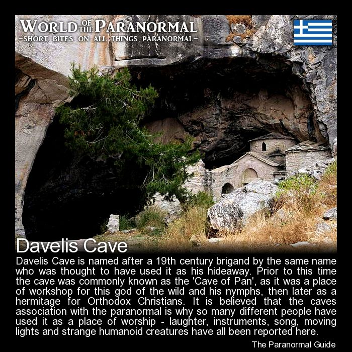Davelis cave penteli greece world of the paranormal for Paranormal activities in the world