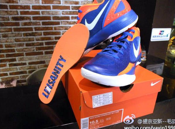 online store 0ad4b 13ec9 Linsanity New York Knicks Nike HyperDunk 2011 for Jermey Lin. These are  player exclusive but I would love to get my hands on them. TBlakeRaps.com
