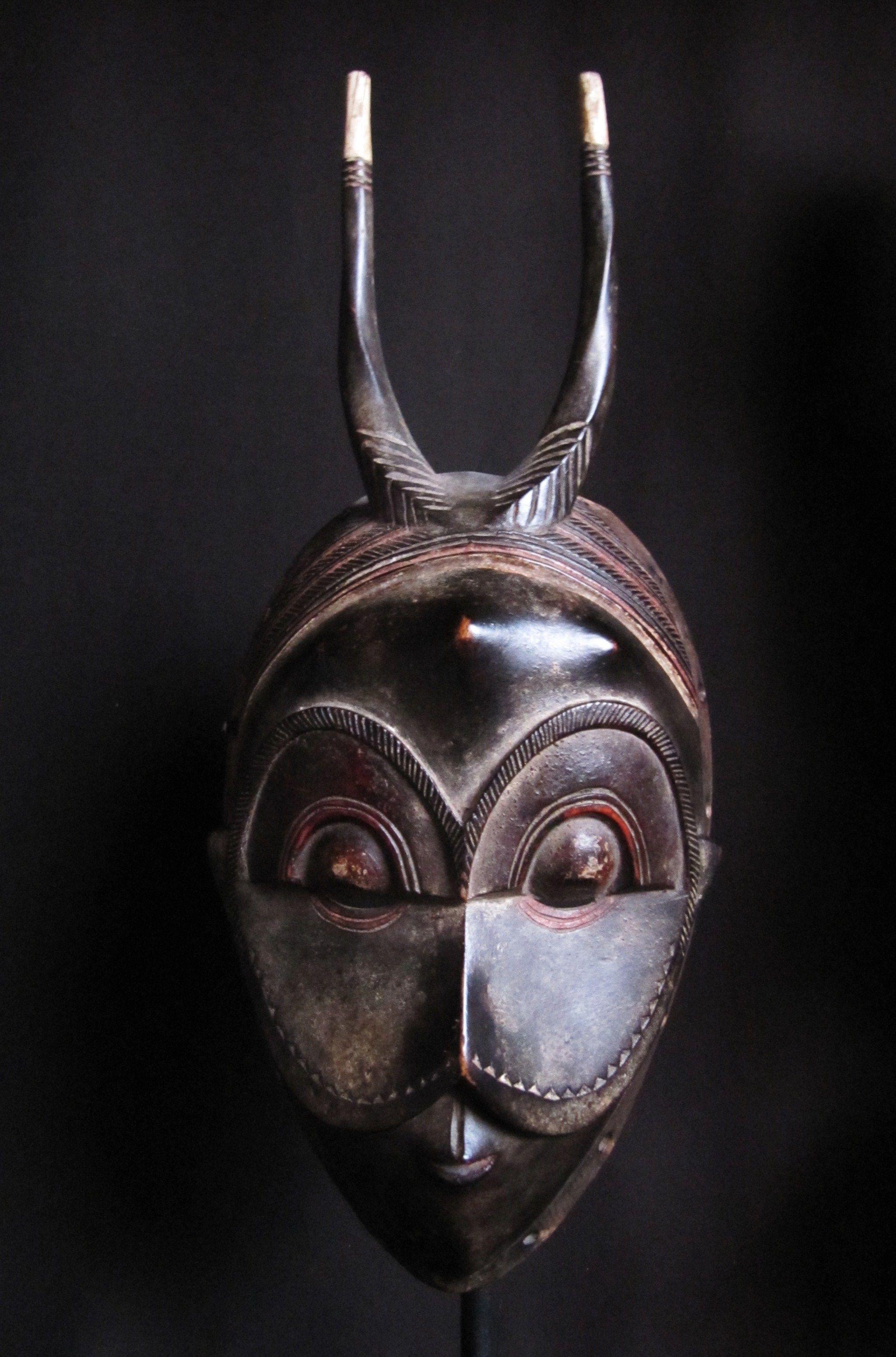 Guro Owl Mask. Ivory Coast. Ex coll.PD