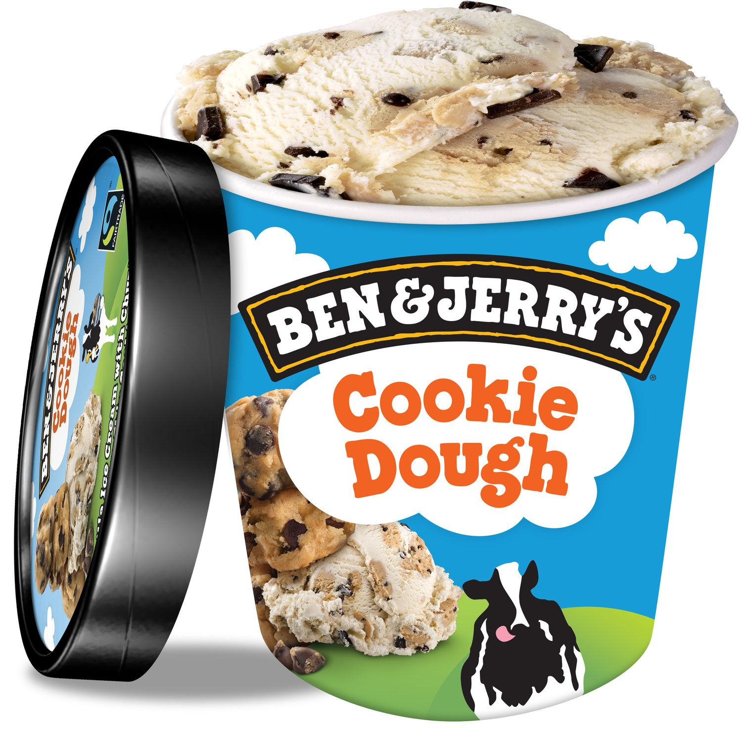 Glace Cookie Dough Vanille Ben Jerry S Le Pot De 425g A Prix