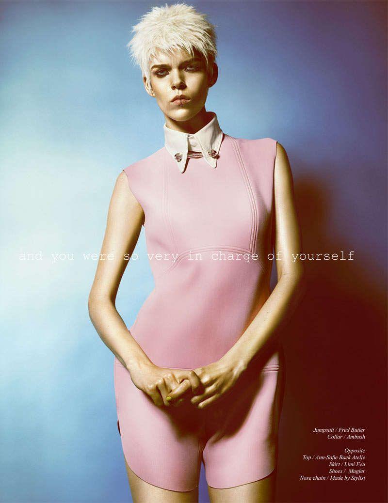 Feminine Punk Photography meghan collison schon magazine #schonmagazine