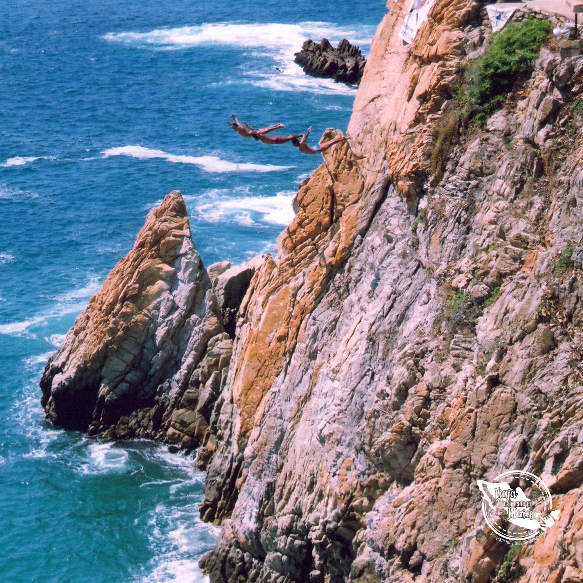 Video De La Quebrada En Acapulco Acapulco Playa