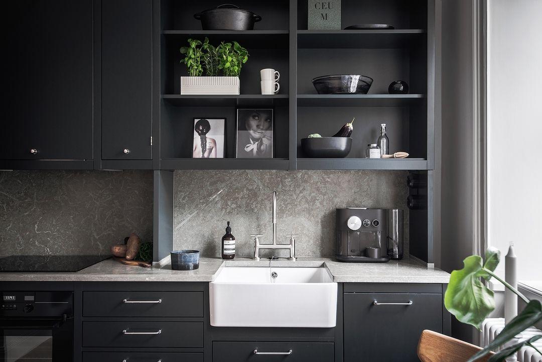 L gant petit espace home amenagement cuisine petit espace et cuisine kitchen - Amenagement cuisine petit espace ...