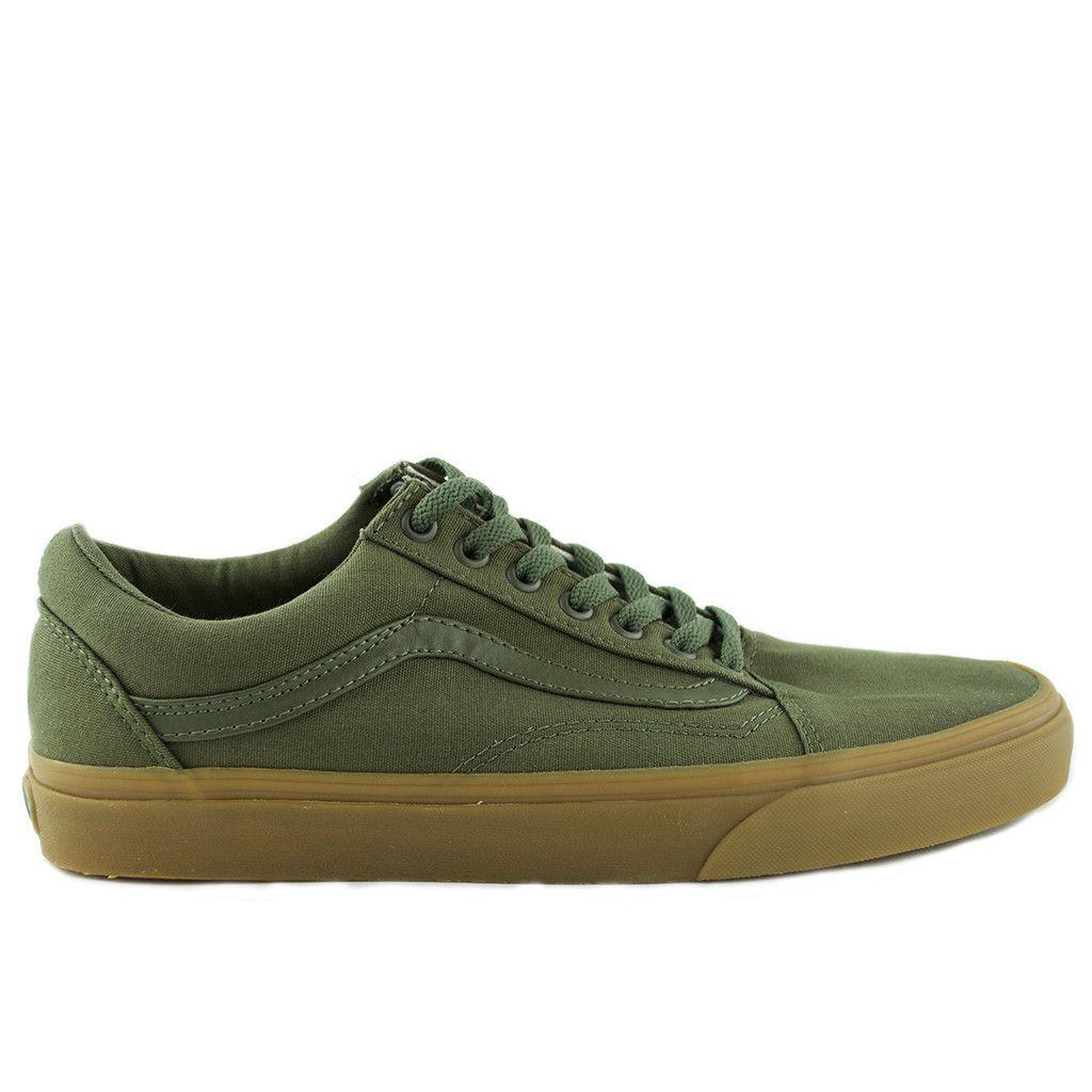 GumIvy GreenShoes Skool Old Skoolcanvas Vans 8kNPXnwO0
