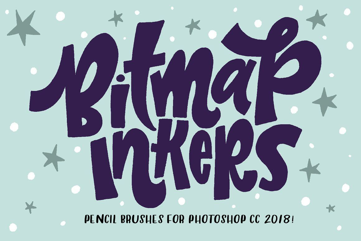 Bitmap Inkers For Photoshop Cc2018 Photoshop Photoshop Brushes