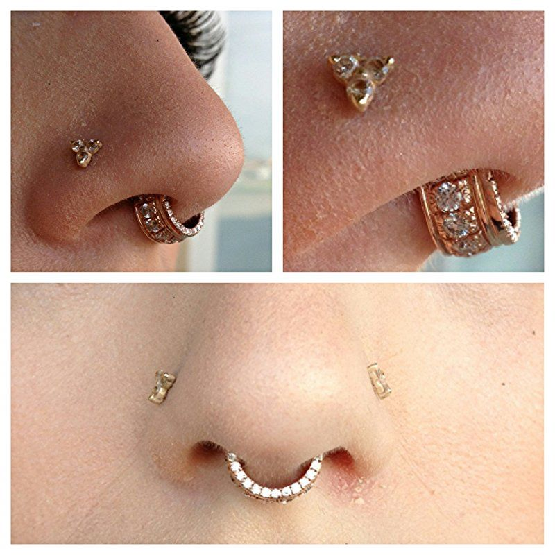 807ebd84f Rose Gold Septum Ring Septum jewelry from bvla ' | piercing | Rose ...