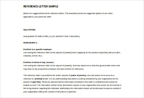 Image result for reference letters format Reference formats - how to format a reference letter
