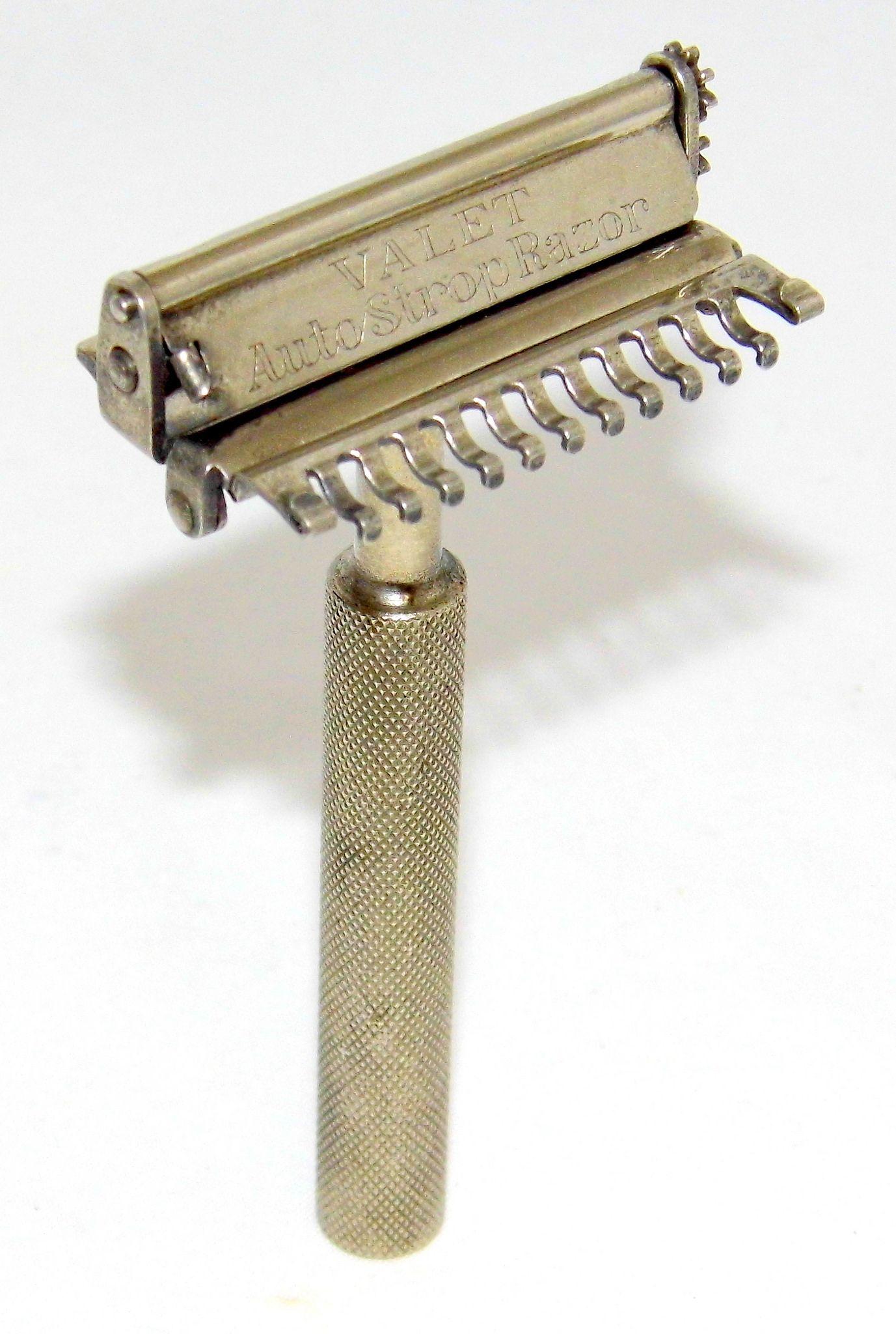 Vintage Valet AutoStrop Single Edge Safety Razor, Model